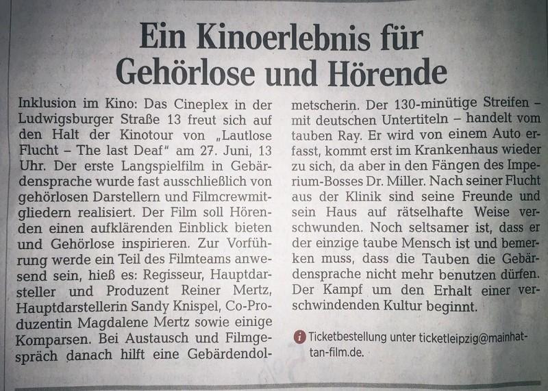 Presse Leipzig
